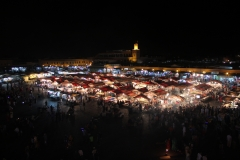 Ночной рынок в Марракеше