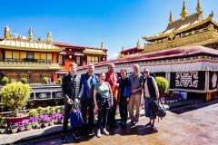 Груповое фото Тибет
